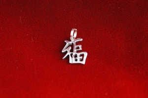 Picture of Silver Good Fortune Pendant